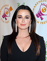LSO ANGELES, CA - October 05: Kyle Richards, At 2017 Awareness Film Festival - Opening Night Premiere Of 'The Road To Yulin And Beyond' At Regal LA Live Stadium 14 In California on October 05, 2017. <br /> CAP/MPI/FS<br /> &copy;FS/MPI/Capital Pictures