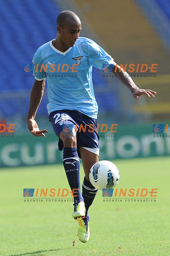 abdoulay konko (lazio)..roma 25-09-2011 stadio olimpico..calcio football serie a 2011-2012..lazio palermo..foto insidefoto massimo oliva