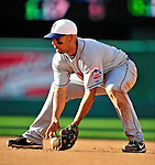 3 July 2010: New York Mets' second baseman Alex Cora in action against the Washington Nationals at Nationals Park in Washington, DC. The Nationals rallied in the bottom of the 9th to defeat the Mets 6-5 in the third game of their 4-game series. Mandatory Credit: Ed Wolfstein Photo