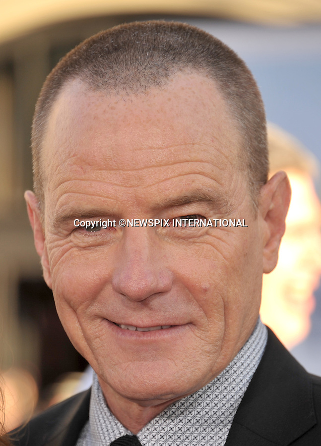 """BRYAN CRANSTON.attends the World Premiere of """"Larry Crowne"""" at the Grauman's Chinese Theatre, Hollywood, Los Angeles, California_27/06/2011.Mandatory Photo Credit: ©Crosby/Newspix International. .**ALL FEES PAYABLE TO: """"NEWSPIX INTERNATIONAL""""**..PHOTO CREDIT MANDATORY!!: NEWSPIX INTERNATIONAL(Failure to credit will incur a surcharge of 100% of reproduction fees).IMMEDIATE CONFIRMATION OF USAGE REQUIRED:.Newspix International, 31 Chinnery Hill, Bishop's Stortford, ENGLAND CM23 3PS.Tel:+441279 324672  ; Fax: +441279656877.Mobile:  0777568 1153.e-mail: info@newspixinternational.co.uk"""