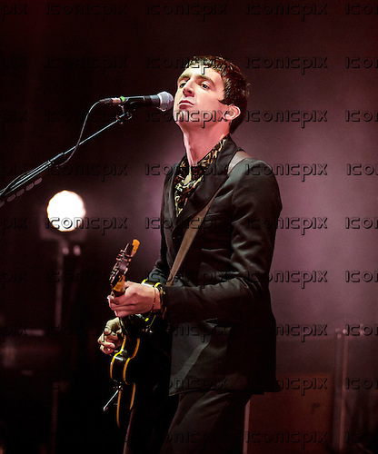 MILES KANE- performing live at Brixton Academy in London UK - 11 October 2013.  Photo credit: Iain Reid/IconicPix