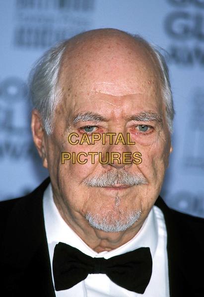 ROBERT ALTMAN..Golden Globe Awards, Los Angeles..director, beard, moustache, bald, bow tie, goatee, portrait, headshot..www.capitalpictures.com..sales@capitalpictures.com..©Capital Pictures..