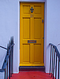 ENGLAND, Brighton, an Orange Door
