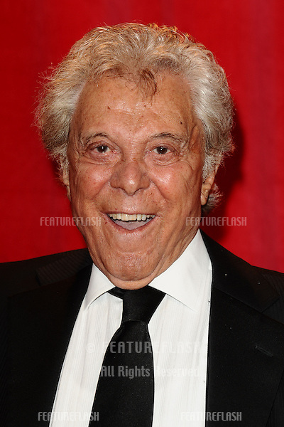 Lionel Blair arriving for the 2014 British Soap Awards, at the Hackney Empire, London. 24/05/2014 Picture by: Steve Vas / Featureflash