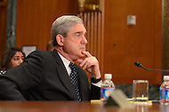 March 15, 2012  (Washington, DC)  FBI Director Robert S. Mueller III testifies before an open session of the Senate Appropriations Committee regarding agencies FY2013 budget request.  (Photo by Don Baxter/Media Images International)