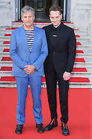 "Viggo Mortensen and director, Matt Ross<br /> arrives for the ""Captain Fantastic"" UK premiere as part of the Film Four Summer Screen season at Somerset House, London.<br /> <br /> <br /> ©Ash Knotek  D3145  17/08/2016"
