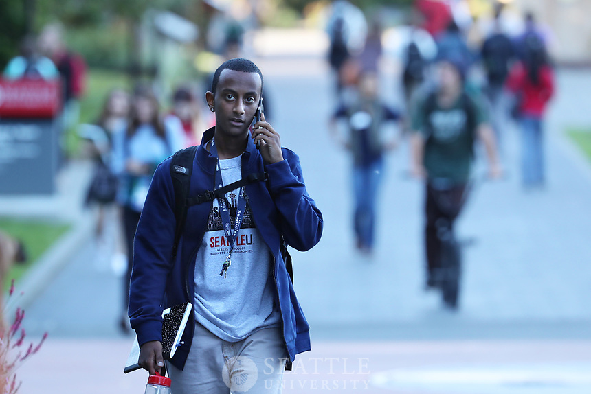 September 21st 2016 - First day of classes for Fall quarter at Seattle University.