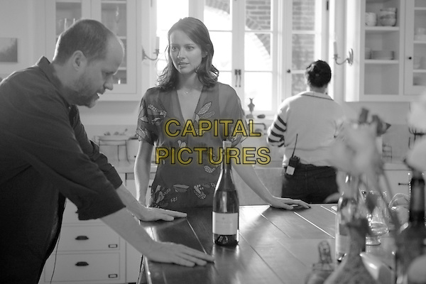 DIRECTOR JOSS WHEDON, AMY ACKER<br /> on the set of Much Ado About Nothing (2012) <br /> *Filmstill - Editorial Use Only*<br /> CAP/FB<br /> Image supplied by Capital Pictures