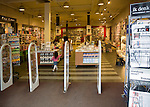 View into stationers and book shop, Dordrecht, Netherlands,