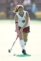 STANFORD, CA - OCTOBER 19:  Hillary Braun of the Stanford Cardinal during Stanford's 12-0 win over UC Davis on October 19, 2008 at the Varsity Field Hockey Turf in Stanford, California.