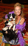 Julie Brown and Mollie at the Citizens for Animal Protection owner/pet fashion show at the Hilton Americas Houston Saturday June 06,2009.(Dave Rossman/For the Chronicle)