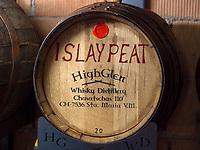 HighGlen Whisky Destillerie, Santa Maria, Val Müstair-Münstertal, Engadin, Graubünden, Schweiz, Europa<br /> HighGlen Whisky Destillery, Santa Maria, Val Müstair-Münster Valley, Engadine, Grisons, Switzerland