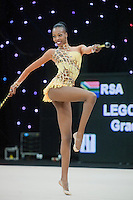 "February 13, 2016 - Tartu, Estonia - GRACE LEGOTE of South Africa performs in the All-Around at ""Miss Valentine"" 2016 international tournament."