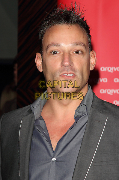 Toby Anstis.The Arqiva Commercial Radio Awards, Park Plaza Westminster Bridge Hotel, Westminster Bridge, London, England..July 4th, 2012.headshot portrait grey gray suit jacket blue shirt .CAP/ROS.©Steve Ross/Capital Pictures.