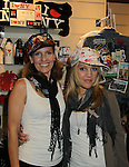 """One Life To Live's Kristen Alderson and Irene Keene try on Jane Elissa's many Hats for Health on September 10, 2010 at the New York Marriott Marquis, New York, New York as Daytime's TV and  Broadway stars get involved in helping launch Jane Elissa's """"Hats For Health"""" to promote awareness and to raise money for Leukemia and cancer research.   (Photo by Sue Coflin/Max Photos)"""