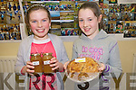Jam, cakes, tarts, smoothies and biscuits were all on offer at the Raheen National School fund-raiser for Haiti. .L-R Sinead Warrel and Nicole Culloty who were involved in the fund-raiser selling jam and tarts.