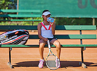 Netherlands, Dordrecht, August 03, 2015, Tennis,  National Junior Championships, NJK, TV Dash 35, Gigi Sy-A-Foek <br /> Photo: Tennisimages/Henk Koster