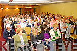 The large crowd pictured at the Community Hospital meeting at the Meadowlands Hotel on Monday evening.