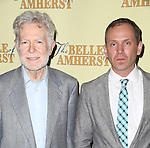 Playwright William Luce and Director Sreve Cosson attend the Off-Broadway Opening Night Press reception for 'The Belle of Amherst'  at the Westside Theatre on October 19, 2014 in New York City