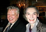 Brian Murray & Marian Seldes arriving for the Opening Night performance for the Roundabout Theatre Company's Production of THE RITZ at Studio 54 in New York City.<br />October 11, 2007<br />© Walter McBride