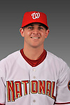 14 March 2008: ..Portrait of Josh Hall, Washington Nationals Minor League player at Spring Training Camp 2008..Mandatory Photo Credit: Ed Wolfstein Photo