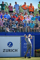 David Hearn (CAN) watches his tee shot on 1 during Round 4 of the Zurich Classic of New Orl, TPC Louisiana, Avondale, Louisiana, USA. 4/29/2018.<br /> Picture: Golffile | Ken Murray<br /> <br /> <br /> All photo usage must carry mandatory copyright credit (&copy; Golffile | Ken Murray)