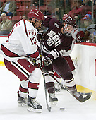 Greg Gozzo (Harvard - 13), Brett Corkey (Colgate - 20) - The Harvard University Crimson defeated the visiting Colgate University Raiders 7-4 (EN) on Saturday, February 20, 2016, at Bright-Landry Hockey Center in Boston, Massachusetts,
