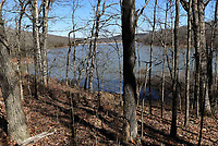 NWA Democrat-Gazette/FLIP PUTTHOFF <br /> Lake Wilson is the centerpiece of Lake Wilson Park in Fayetteville. A trail circles the lake, seen here in March, for a hike of about two miles.