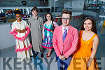 Mercy Mounthawk students launching Hairspray the Musical at the school on Saturday.<br /> Front l to r: Dominic Hurley and Maeve Hanafin.<br /> Back l to r: Thomas Ekwuhama, Eli James McGuire and Christina Burke.
