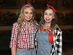 Hazel and Sarah Meade at the Hoedown in Lobinstown held at Meade Potato Company. Photo:Colin Bell/pressphotos.ie