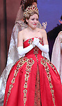 Christy Altomare during Broadway Opening Night Performance Curtain Call bows for 'Anastasia' at the Broadhurst Theatre on April 24, 2017 in New York City.
