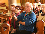 Frank Godfrey speaking in the Dominican church. Photo:Colin Bell/pressphotos.ie