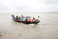 Every year in Bangladesh, millions of people are affected by river erosion that destroys home, farmland, communication infrastructure. Every year in Bangladesh, millions of people are affected by river erosion that destroys home, farmland, communication infrastructure. In the last couple of days erosion by the Padma River has caused extensive damages to houses, agricultural lands, roads etc. In Dohar, lots of people lost their lands and homes due to Padma river banks erosion. Dohar, Dhaka, Bangladesh.