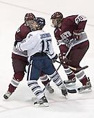 Joe DeBello, Nate Jackson, Jason Fredricks - Colgate University defeated Yale University 6-2 at Ingalls Rink in New Haven, CT on November 5, 2005.