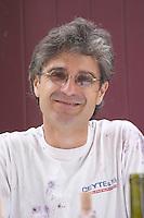 Eric Saurel owner domaine montirius vacqueyras rhone france