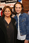Anna Deavere Smith and Jordan Roth attend the Broadway Opening Night Performance for 'Michael Moore on Broadway' at the Belasco Theatre on August 10, 2017 in New York City.