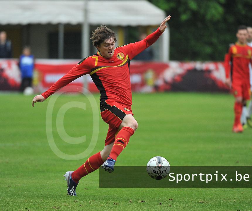 Georgia U19 - Belgium U19 : Thomas Foket<br /> foto DAVID CATRY / Nikonpro.be