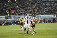 VOETBAL: SC HEERENVEEN: Abe Lenstra Stadion, 17-02-2012, SC-Heerenveen-NAC, Eredivisie, Eindstand 1-0, Bas Dost, Kees Luijckx, ©foto: Martin de Jong.