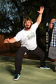 Jack Black of Tenacious D photographed exclusively in Sherman Oaks, CA USA - July 7, 2008.  Photo: © Zach Cordner / IconicPix