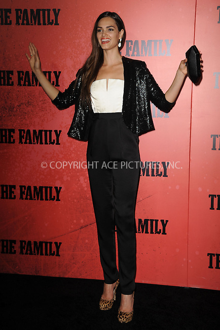 WWW.ACEPIXS.COM<br /> September 10, 2013 New York City<br /> <br /> Lisalla Montenegro attending the World Premiere of &quot;The Family&quot; in New York City on September 10, 2013. <br /> By Line: Kristin Callahan/ACE Pictures<br /> <br /> ACE Pictures, Inc.<br /> tel: 646 769 0430<br /> Email: info@acepixs.com<br /> www.acepixs.com<br /> Copyright:<br /> Kristin Callahan/ACE Pictures