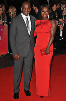 Julius Tennon and Viola Davis at the &quot;Widows&quot; opening film gala, 62nd BFI London Film Festival 2018, Cineworld Leicester Square, Leicester Square, London, England, UK, on Wednesday 10 October 2018.<br /> CAP/CAN<br /> &copy;CAN/Capital Pictures