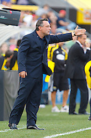 24 OCTOBER 2010:  Philadelphia Union head coach Piotr Nowak during MLS soccer game against the Columbus Crew at Crew Stadium in Columbus, Ohio on August 28, 2010.