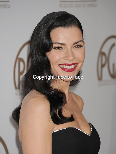 BEVERLY HILLS, CA - JANUARY 26: Julianna Margulies arrives at the 24th Annual Producers Guild Awards at The Beverly Hilton Hotel on January 26, 2013 in Beverly Hills, California...Credit: Mayer/face to face..- No Rights for USA, Canada and France -