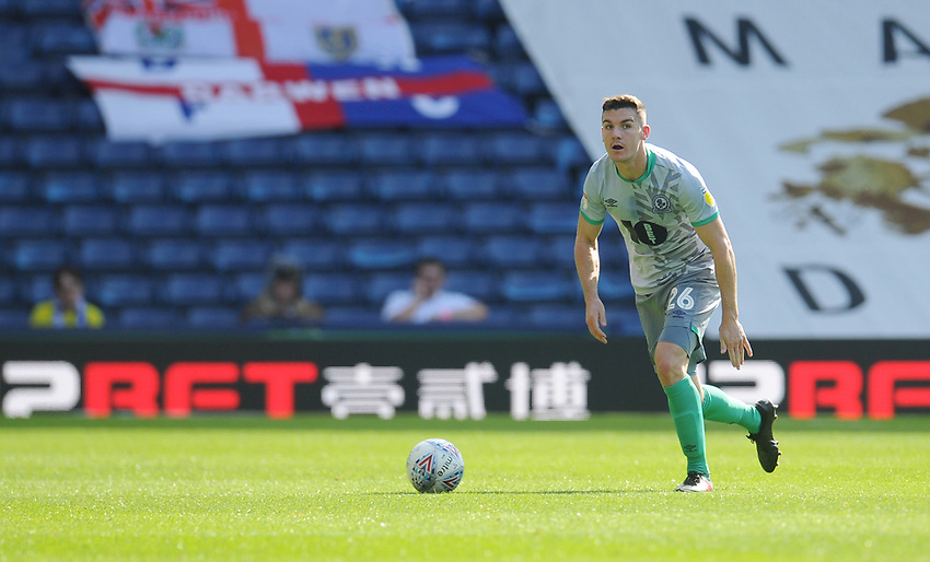 Blackburn Rovers' Darragh Lenihan<br /> <br /> Photographer Kevin Barnes/CameraSport<br /> <br /> The EFL Sky Bet Championship - West Bromwich Albion v Blackburn Rovers - Saturday 31st August 2019 - The Hawthorns - West Bromwich<br /> <br /> World Copyright © 2019 CameraSport. All rights reserved. 43 Linden Ave. Countesthorpe. Leicester. England. LE8 5PG - Tel: +44 (0) 116 277 4147 - admin@camerasport.com - www.camerasport.com