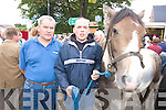 Jim Young and Johnny Evans Keel Pictured at Kenmare fair day on Saturday.