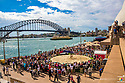 SYDNEY, AUSTRALIA - OCTOBER 9: Homeground Festival at The Sydney Opera House on October 9, 2016.