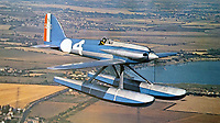 BNPS.co.uk (01202 558833)<br /> Pic: WilliamHosie/BNPS<br /> <br /> Bill Hosie's S.5 replica before its fatal crash.<br /> <br /> British pilot William Hosie is attempting to build a working replica of the historic S.5 Schneider trophy seaplane, 33 years after his father was killed in an identical aircraft.<br /> <br /> William Hosie, 58, needs to raise £275,000 to construct a unique Supermarine S.5 from scratch, using the original blueprints of the famous aircraft designed by R.J.Mitchelll in the 1920's.<br /> <br /> The project has an added poignancy as his father, Bill Hosie, perished aged 57 flying an identical S.5 replica he'd built over Mylor, Cornwall, in May 1987.<br /> <br /> Once complete, William hopes to fly the unique seaplane at airshows as a reminder of Britain's proud history from the pioneering days of aircraft and as a tribute to his late father.<br /> <br /> The Supermarine S.5 won the prestigious Schneider Trophy in Venice in 1927 with a speed of 281mph. If Will, from Taunton, Somerset, succeeds, his will be the only working Supermarine S5 in the world.