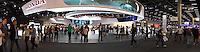 SAO PAULO,SP 15.11.2016 - SALÃO-AUTOMOVEL - Movimentação no Salão internacional do automovel de São Paulo no expo Imigrantes na região sul da cidade de São Paulo nesta terça-feira,15. <br /> <br /> (Foto:Fabricio Bomjardim/Brazil Photo Press/Folhapress)