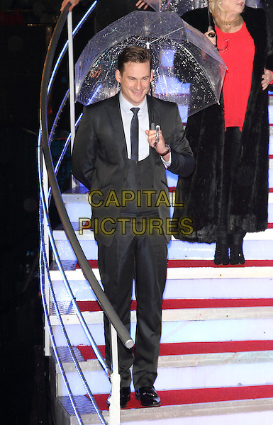 BOREHAMWOOD, ENGLAND - JANUARY 29: Lee Ryan at the Celebrity Big Brother Final at Elstree Studios on January 29, 2014 in Borehamwood, England<br /> CAP/ROS<br /> &copy;Steve Ross/Capital Pictures