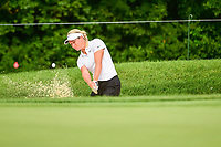 Suzann Pettersen (NOR) hits from the trap on 1 during Friday's round 2 of the 2017 KPMG Women's PGA Championship, at Olympia Fields Country Club, Olympia Fields, Illinois. 6/30/2017.<br /> Picture: Golffile | Ken Murray<br /> <br /> <br /> All photo usage must carry mandatory copyright credit (&copy; Golffile | Ken Murray)
